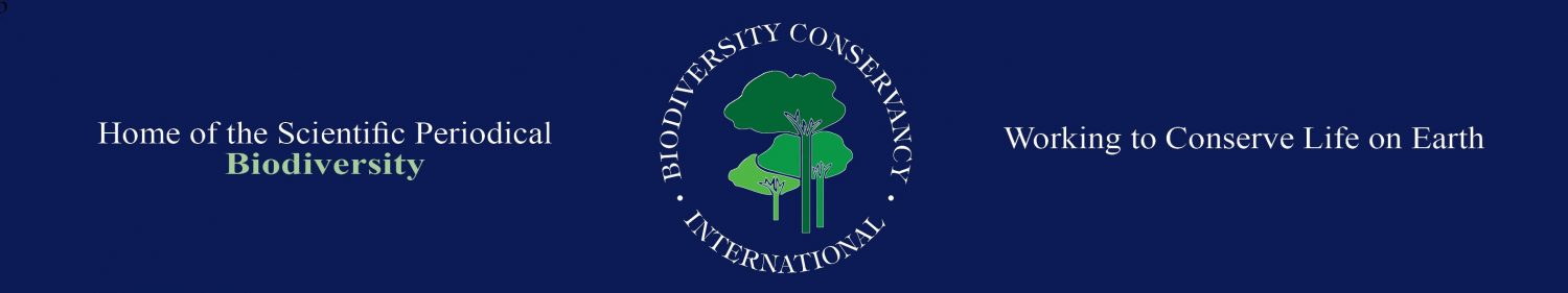 Biodiversity Conservancy International, Biodiversity